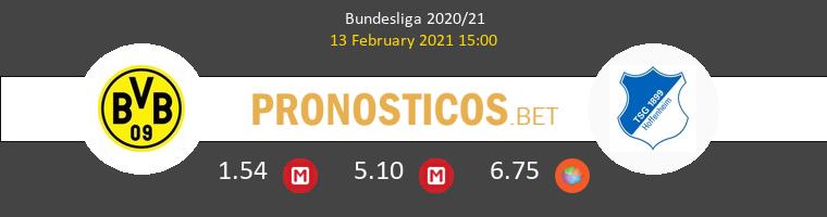 Borussia vs Hoffenheim Pronostico (13 Feb 2021) 1