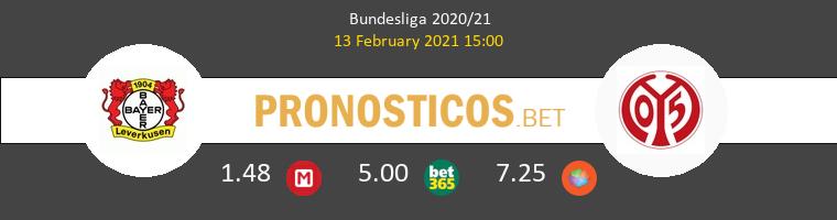 Leverkusen vs Mainz 05 Pronostico (13 Feb 2021) 1