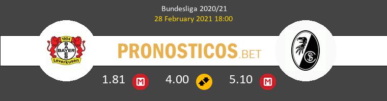 Leverkusen vs SC Freiburg Pronostico (28 Feb 2021) 1