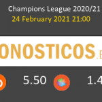 B. Mönchengladbach vs Manchester City Pronostico (24 Feb 2021) 2