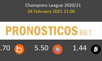 B. Mönchengladbach vs Manchester City Pronostico (24 Feb 2021) 3