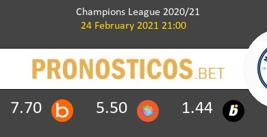 B. Mönchengladbach vs Manchester City Pronostico (24 Feb 2021) 1