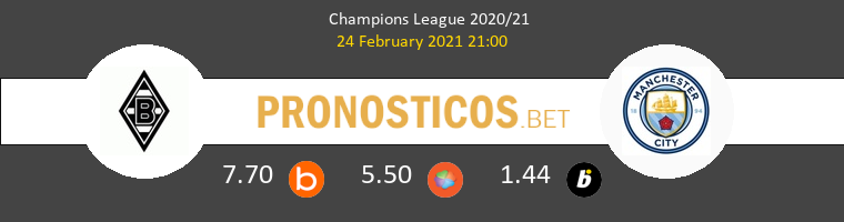 B. Mönchengladbach vs Manchester City Pronostico (24 Feb 2021) 1
