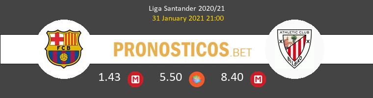 Barcelona vs Athletic de Bilbao Pronostico (31 Ene 2021) 1