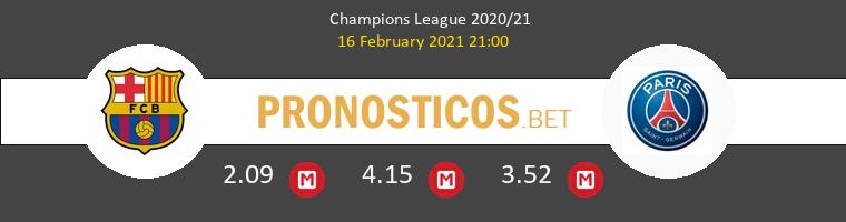 Barcelona vs PSG Pronostico (16 Feb 2021) 1