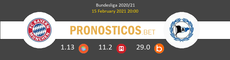 Bayern Munich vs Arminia Bielefeld Pronostico (15 Feb 2021) 1