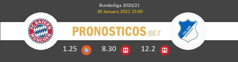 Bayern vs Hoffenheim Pronostico (30 Ene 2021) 1
