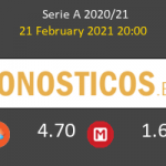 Benevento vs Roma Pronostico (21 Feb 2021) 3
