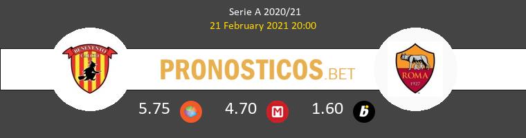 Benevento vs Roma Pronostico (21 Feb 2021) 1