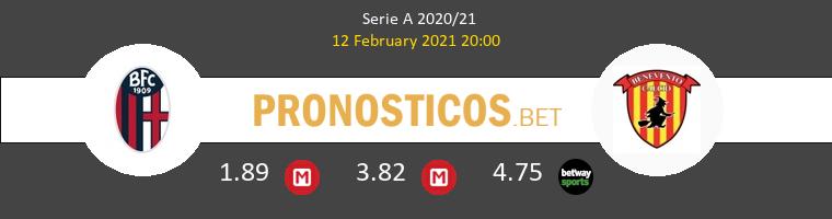 Bologna vs Benevento Pronostico (12 Feb 2021) 1