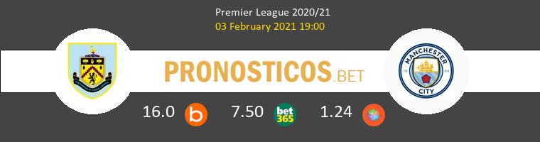 Burnley vs Manchester City Pronostico (3 Feb 2021) 1