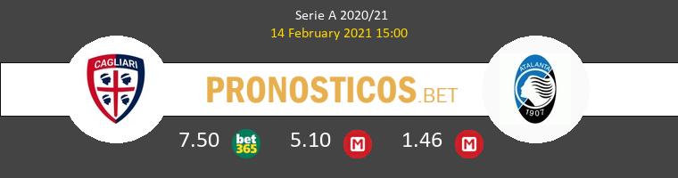Cagliari vs Atalanta Pronostico (14 Feb 2021) 1