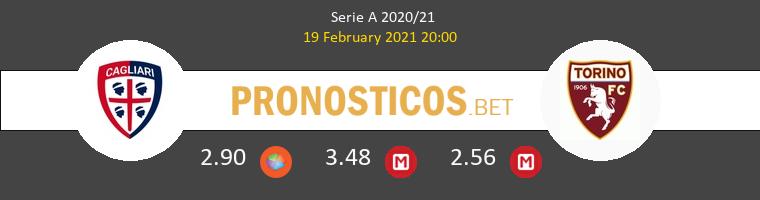 Cagliari vs Torino Pronostico (19 Feb 2021) 1