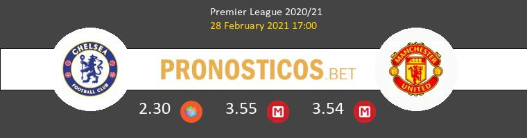 Chelsea vs Manchester United Pronostico (28 Feb 2021) 1