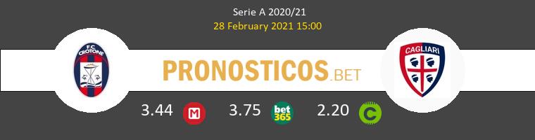 Crotone vs Cagliari Pronostico (28 Feb 2021) 1
