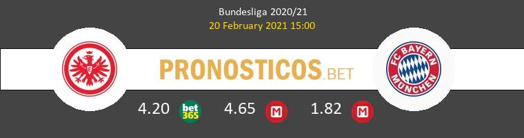 Eintracht Frankfurt vs Bayern Pronostico (20 Feb 2021) 1