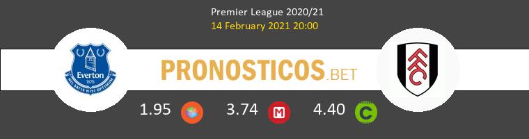 Everton vs Fulham Pronostico (14 Feb 2021) 1