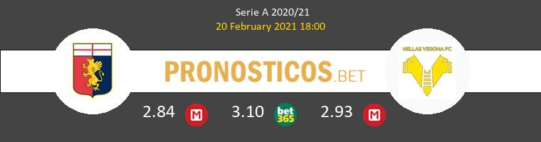 Génova vs Hellas Verona Pronostico (20 Feb 2021) 1