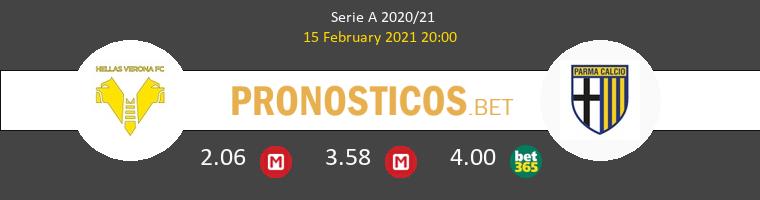 Hellas Verona vs Parma Pronostico (15 Feb 2021) 1