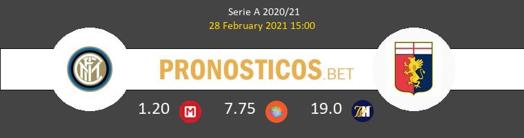 Inter vs Genova Pronostico (28 Feb 2021) 1