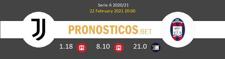 Juventus vs Crotone Pronostico (22 Feb 2021) 1
