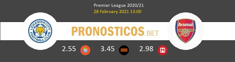 Leicester vs Arsenal Pronostico (28 Feb 2021) 1