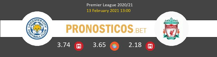 Leicester vs Liverpool Pronostico (13 Feb 2021) 1