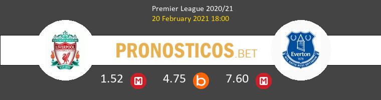 Liverpool vs Everton Pronostico (20 Feb 2021) 1