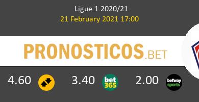 Lorient vs Lille Pronostico (21 Feb 2021) 4