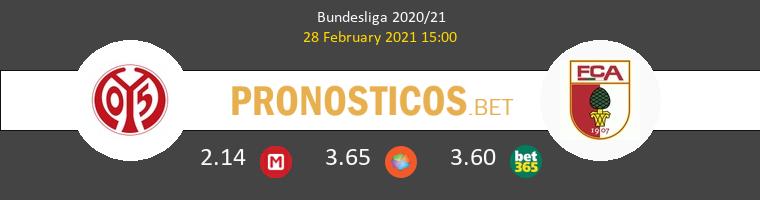 Mainz 05 vs FC Augsburg Pronostico (28 Feb 2021) 1
