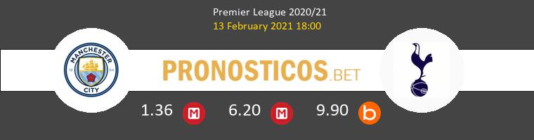 Manchester City vs Tottenham Hotspur Pronostico (13 Feb 2021) 1