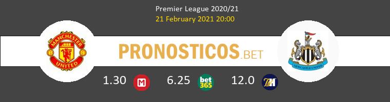 Manchester United vs Newcastle Pronostico (21 Feb 2021) 1