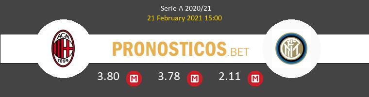 Milan vs Inter Pronostico (21 Feb 2021) 1