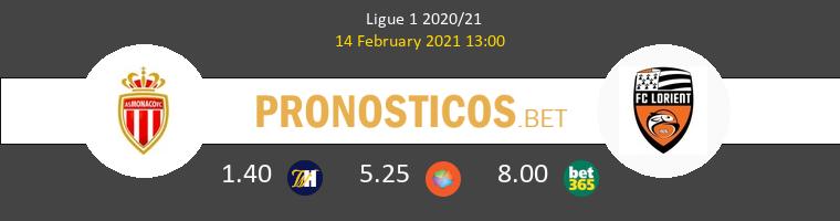 Monaco vs Lorient Pronostico (14 Feb 2021) 1
