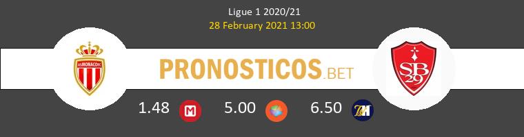 Monaco vs Stade Brestois Pronostico (28 Feb 2021) 1