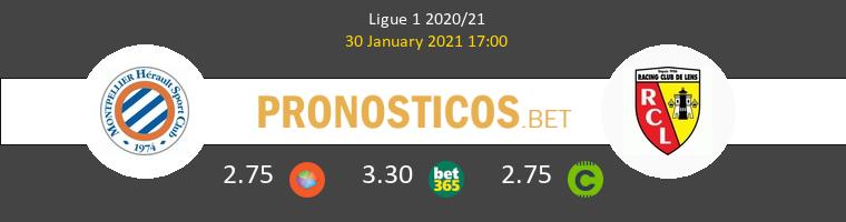 Montpellier vs Lens Pronostico (30 Ene 2021) 1