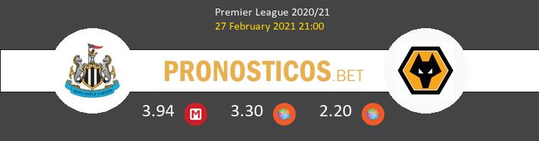 Newcastle vs Wolves Pronostico (27 Feb 2021) 1
