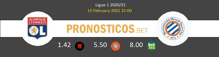 Olympique Lyonnais vs Montpellier Pronostico (13 Feb 2021) 1