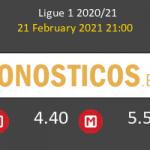 Paris Saint Germain vs Monaco Pronostico (21 Feb 2021) 2