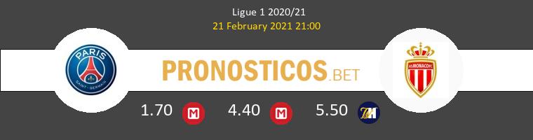 Paris Saint Germain vs Monaco Pronostico (21 Feb 2021) 1