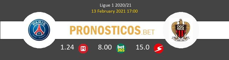 PSG vs Niza Pronostico (13 Feb 2021) 1