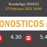 Red Bull Leipzig vs B. Mönchengladbach Pronostico (27 Feb 2021) 5