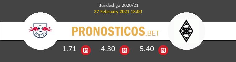 Red Bull Leipzig vs B. Mönchengladbach Pronostico (27 Feb 2021) 1