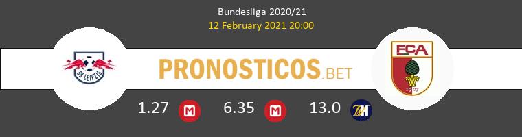 Red Bull Leipzig vs FC Augsburgo Pronostico (12 Feb 2021) 1