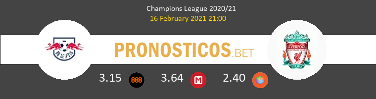 Red Bull Leipzig vs Liverpool Pronostico (16 Feb 2021) 1