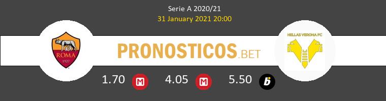 Roma vs Hellas Verona Pronostico (31 Ene 2021) 1