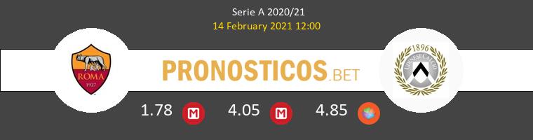 Roma vs Udinese Pronostico (14 Feb 2021) 1