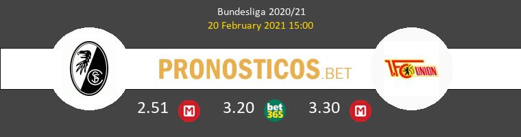 SC Freiburg vs Union Berlin Pronostico (20 Feb 2021) 1