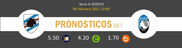 Sampdoria vs Atalanta Pronostico (28 Feb 2021) 1