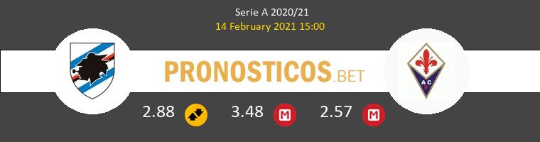 Sampdoria vs Fiorentina Pronostico (14 Feb 2021) 1